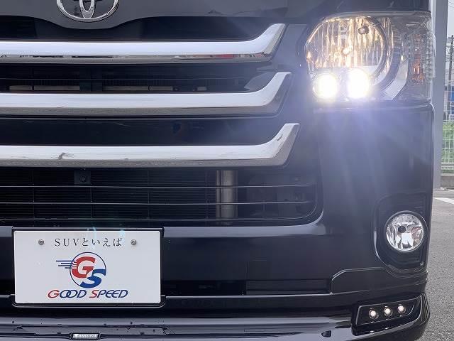 スーパーGL ダークプライム 純正SDナビ フルセグ バックカメラ Wエアバック ハーフレザー&アルカンターラ ウッド調コンビハンドル&パネル モデリスタフロントリップ 4WD(19枚目)