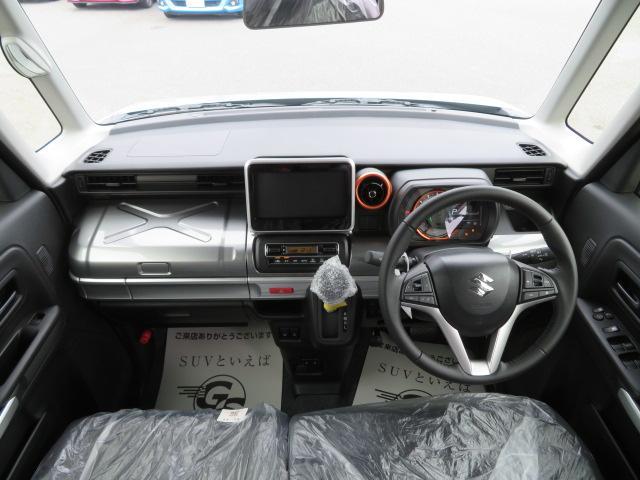 ハイブリッドXZ 届出済未使用車 両PS スマアシ シートヒーター ソナー スマートキー LEDヘッド(2枚目)