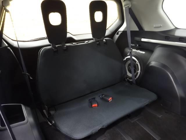 Gリミテッドエディション 4WD ブラックレザーシート 純正HDDナビ バックモニター サイドバイザー シートヒーター パドルシフト ロックフォードサウンドシステム(7枚目)