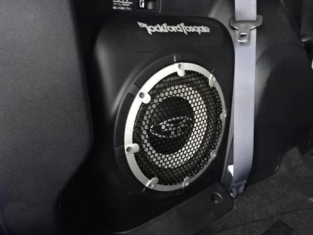 Gリミテッドエディション 4WD ブラックレザーシート 純正HDDナビ バックモニター サイドバイザー シートヒーター パドルシフト ロックフォードサウンドシステム(12枚目)