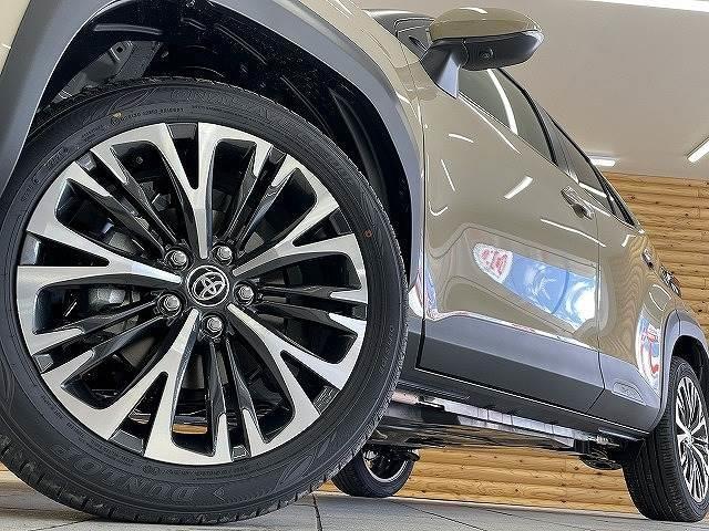 HYBRID Z 新車未登録 ステアリングヒーター ブラインドスポット パノラミックビュー LED シートヒーター bluetooth レーダークルーズコントロール 純正AW スマートキー(20枚目)