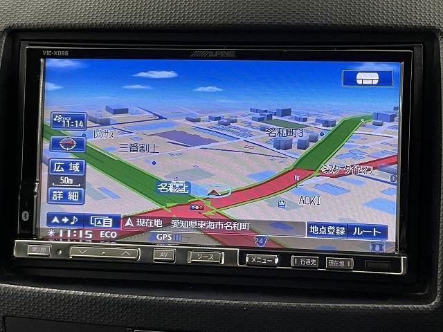 ローデスト20G HDDナビ カメラ ETC パドルシフト スマートキー HID ドライブレコーダー 純正AW 7人乗り オートエアコン パドルシフト(3枚目)