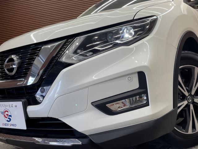 20X 純正ナビ インテリキー カブロンシート パートタイム4WD ETC パワーバックドア LEDヘッドライト オートライト コーナーセンサー ダウンヒルアシスト(20枚目)