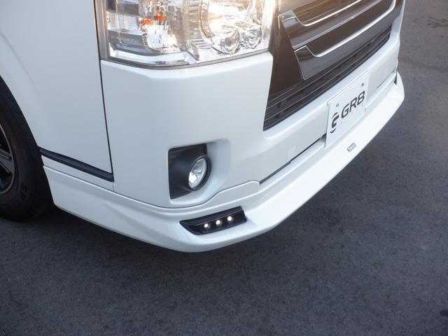 トヨタセーフティーセンス/8inサイバーナビ/Bカメラ/ETC/スマートキー&エンジンプッシュスタート/モデリスタフロントスポイラー/モデリスタフロントグリル/ベッドキット/AC100V電源