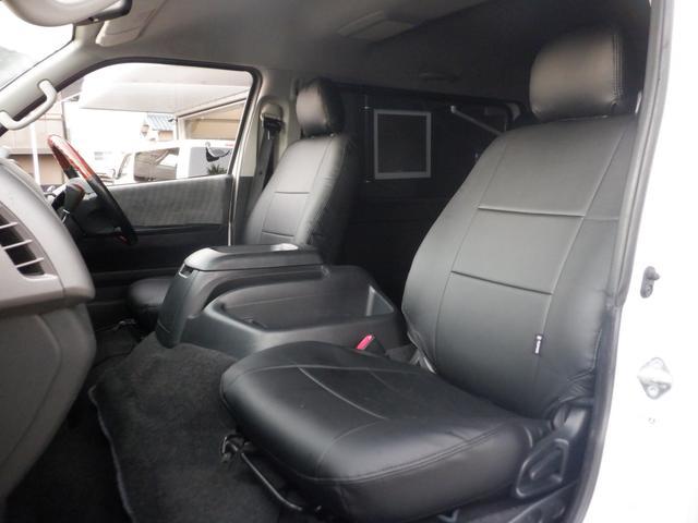 ロングワイドスーパーGL SD地デジナビ/ETC車載器/Wエアバッグ/レザー調シートカバー/17inアルミ/ディスチャージヘッドライト/モデリスタフロントスポイラー/サイドバイザー/キーレスエントリー(41枚目)