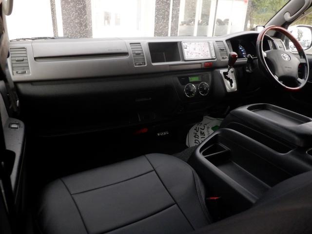 ロングワイドスーパーGL SD地デジナビ/ETC車載器/Wエアバッグ/レザー調シートカバー/17inアルミ/ディスチャージヘッドライト/モデリスタフロントスポイラー/サイドバイザー/キーレスエントリー(53枚目)