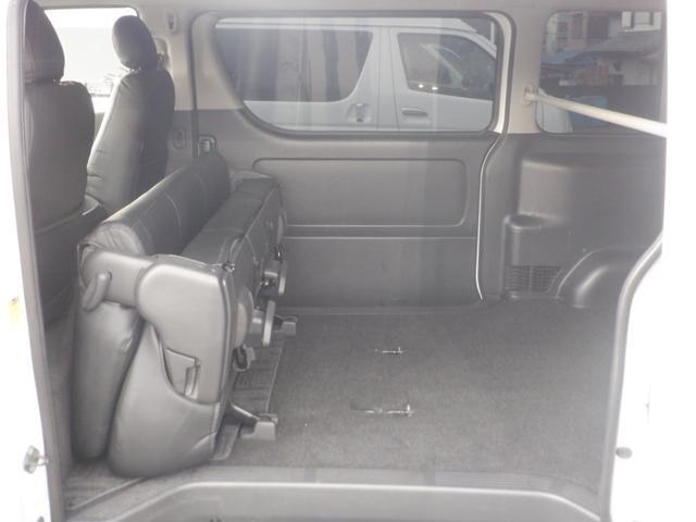 ロングワイドスーパーGL SD地デジナビ/ETC車載器/Wエアバッグ/レザー調シートカバー/17inアルミ/ディスチャージヘッドライト/モデリスタフロントスポイラー/サイドバイザー/キーレスエントリー(59枚目)