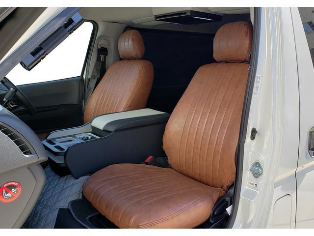 ロングワイドスーパーGL SD地デジナビ/ETC車載器/Wエアバッグ/レザー調シートカバー/17inアルミ/ディスチャージヘッドライト/モデリスタフロントスポイラー/サイドバイザー/キーレスエントリー(70枚目)