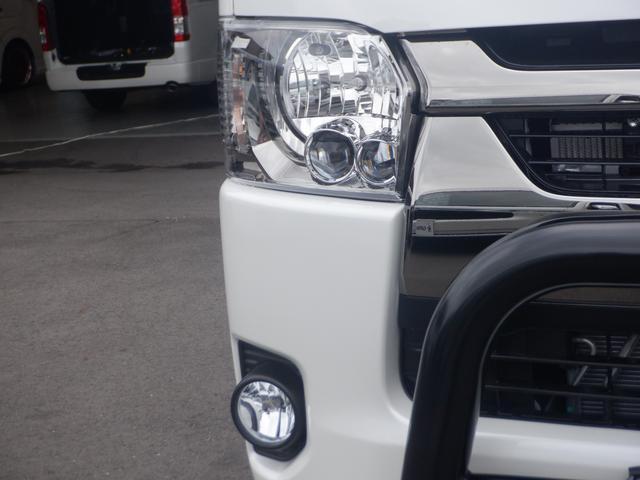 スーパーGL ダークプライムII 両側パワスラ/4WD/TRDマットガード/TSDバンパーガード/オープンカントリー16inアルミ/スマートキー/パノラミックビューM/デジタルインナーM/ハーフレザー/LEDヘッド(11枚目)