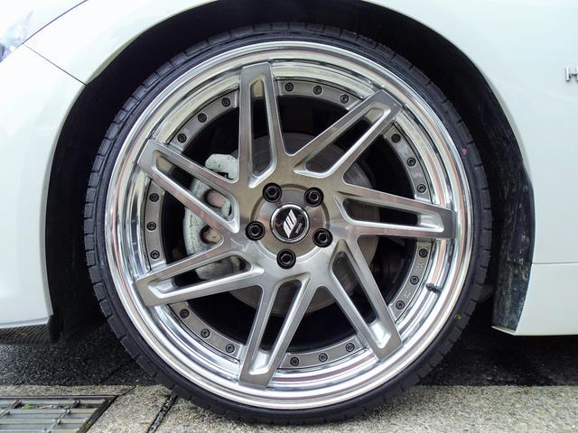 350GT ハイブリッド タイプP 黒革ヒーター付シート 新品WORKジーストST3トランスグレーポリッシュ20インチホイール&タイヤ 新品ブリッツ車高調(20枚目)