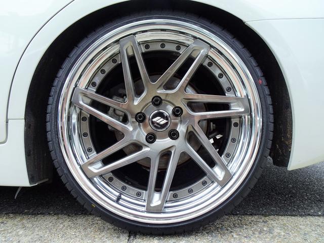 350GT ハイブリッド タイプP 黒革ヒーター付シート 新品WORKジーストST3トランスグレーポリッシュ20インチホイール&タイヤ 新品ブリッツ車高調(21枚目)