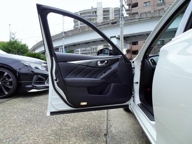 350GT ハイブリッド タイプP 黒革ヒーター付シート 新品WORKジーストST3トランスグレーポリッシュ20インチホイール&タイヤ 新品ブリッツ車高調(30枚目)