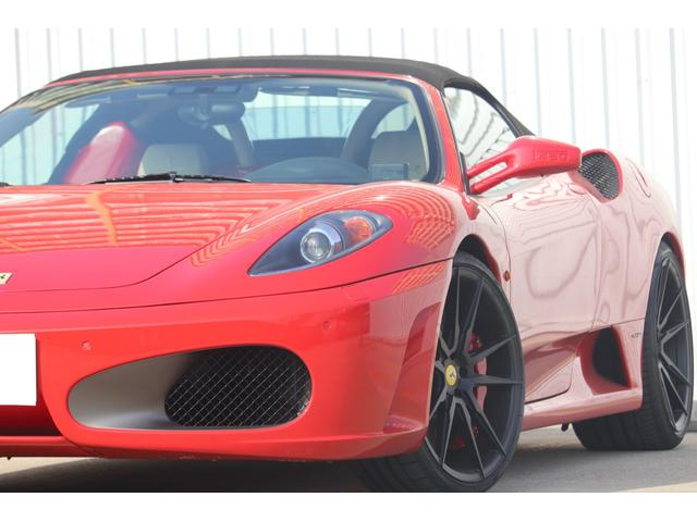 F1 走行8000キロ台/屋内保管/フェラーリバック&工具/燃料ポンプ左右交換済/イエローレブカウンター/社外HDDナビ/バックカメラ/HYPER FORGED20in/カーボンインテリア/可変バルブ(27枚目)