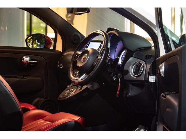 ツーリズモ ワンオーナー/アイバッハ車高調(プロストリートS)/赤革/レコードモンツァマフラー/令和1年車/アバルトスコーピオンステッカー/アバルトサイドデカール/5速シーケンシャル/Apple CarPlay(3枚目)