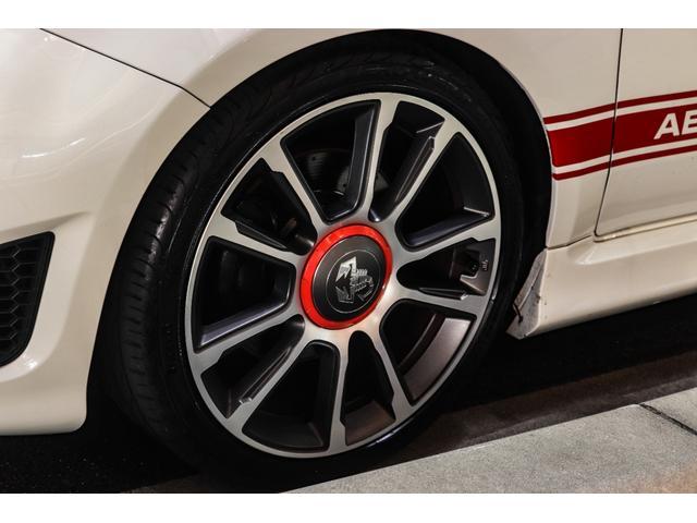 ツーリズモ ワンオーナー/アイバッハ車高調(プロストリートS)/赤革/レコードモンツァマフラー/令和1年車/アバルトスコーピオンステッカー/アバルトサイドデカール/5速シーケンシャル/Apple CarPlay(17枚目)