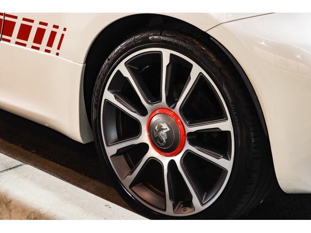 ツーリズモ ワンオーナー/アイバッハ車高調(プロストリートS)/赤革/レコードモンツァマフラー/令和1年車/アバルトスコーピオンステッカー/アバルトサイドデカール/5速シーケンシャル/Apple CarPlay(18枚目)
