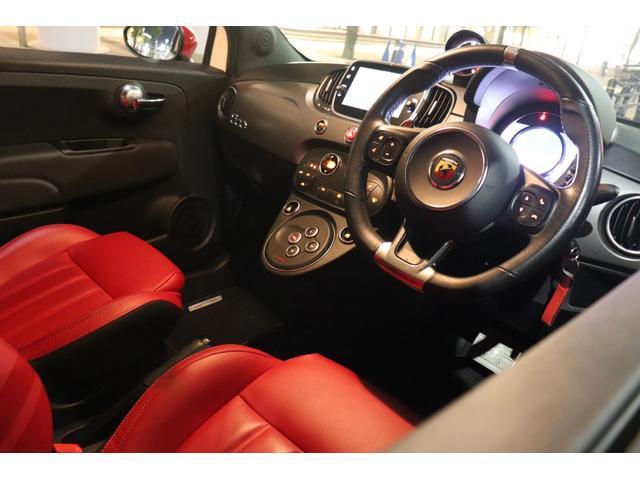 ツーリズモ ワンオーナー/アイバッハ車高調(プロストリートS)/赤革/レコードモンツァマフラー/令和1年車/アバルトスコーピオンステッカー/アバルトサイドデカール/5速シーケンシャル/Apple CarPlay(22枚目)