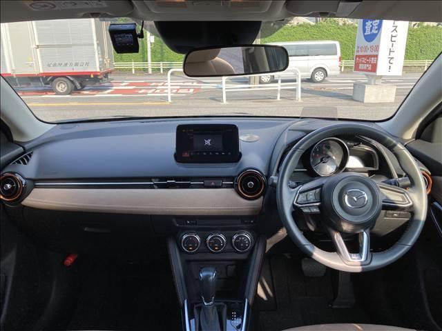 13Sテーラードブラウン マツダコネクトナビ バックカメラ シートヒーター LEDヘッドライト スマートキー プッシュエンジンスタート ドライブレコーダー ETC アイドリングストップ 横滑り抑制装置 純正アルミホイール(2枚目)