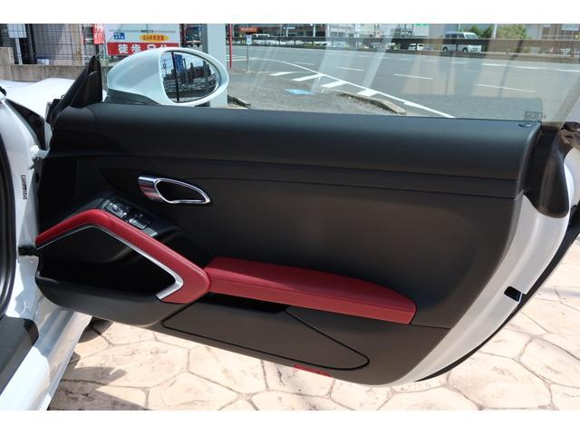 718ケイマンS パーシャルレザーシート カーボンインテリア PDSL付きHIDヘッド ポルシェエントリー&ドライブ レーンチェンジアシスト パークアシスト ドラレコ(26枚目)