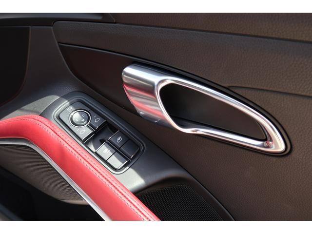 718ケイマンS パーシャルレザーシート カーボンインテリア PDSL付きHIDヘッド ポルシェエントリー&ドライブ レーンチェンジアシスト パークアシスト ドラレコ(27枚目)