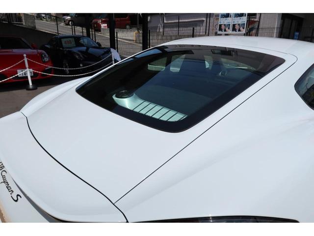 718ケイマンS パーシャルレザーシート カーボンインテリア PDSL付きHIDヘッド ポルシェエントリー&ドライブ レーンチェンジアシスト パークアシスト ドラレコ(45枚目)