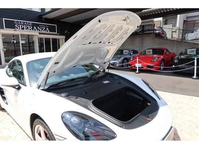 718ケイマンS パーシャルレザーシート カーボンインテリア PDSL付きHIDヘッド ポルシェエントリー&ドライブ レーンチェンジアシスト パークアシスト ドラレコ(54枚目)