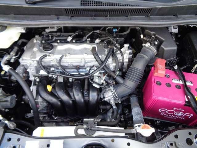 アイドリングストップ採用でさらに低燃費になったMR20エンジンとエクストロニックCVTのコンビ!常に効率のいいエンジン回転数をキープし、低燃費に貢献する組合せです。