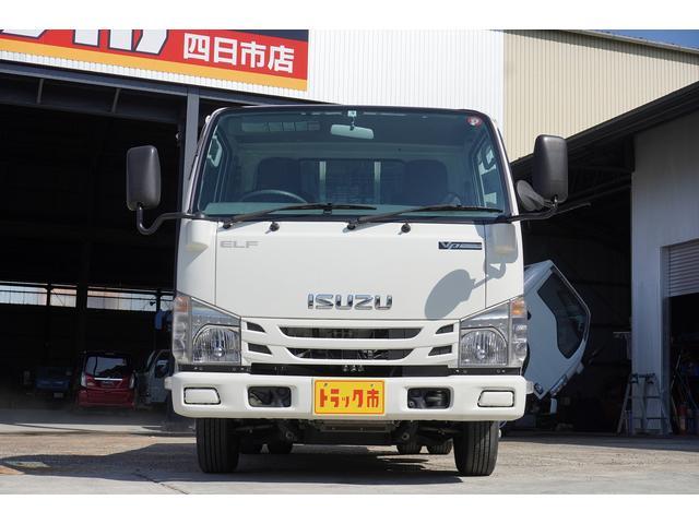 フルフラットロー 積載2t ETC 左電動格納ミラー ASR Wタイヤ 走行距離23037Km アイドリングストップ 荷台内寸3105mm/1605mm/375mm 荷台高860mm 車両総重量4325kg(4枚目)