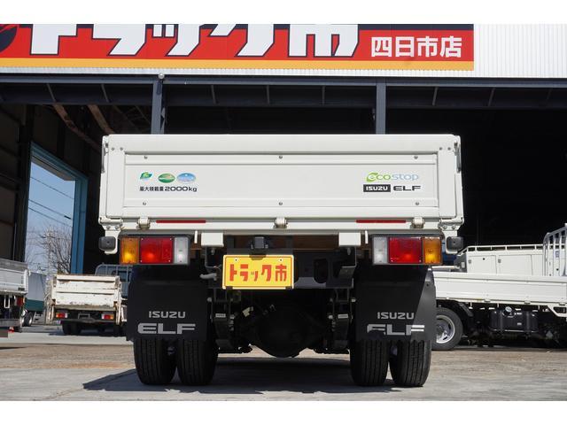 フルフラットロー 積載2t ETC 左電動格納ミラー ASR Wタイヤ 走行距離23037Km アイドリングストップ 荷台内寸3105mm/1605mm/375mm 荷台高860mm 車両総重量4325kg(5枚目)