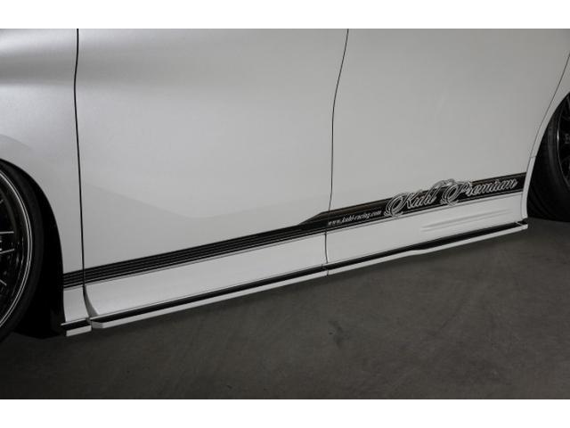 2.5S エアサス装着車 KUHLエアロ VERZ20インチAW(4枚目)