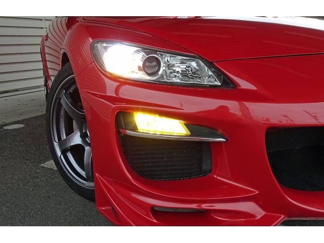 タイプS 6MT車 HKS車庫調 アドバンレーシング18AW アールマジックマフラー ディスチャージ フォグ 社外ナビ フルセグTV Bカメラ オービスレーダー 追加ツイーター ステリモ Bluetooth(12枚目)