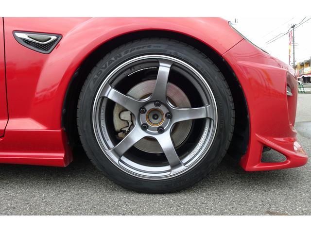 タイプS 6MT車 HKS車庫調 アドバンレーシング18AW アールマジックマフラー ディスチャージ フォグ 社外ナビ フルセグTV Bカメラ オービスレーダー 追加ツイーター ステリモ Bluetooth(21枚目)