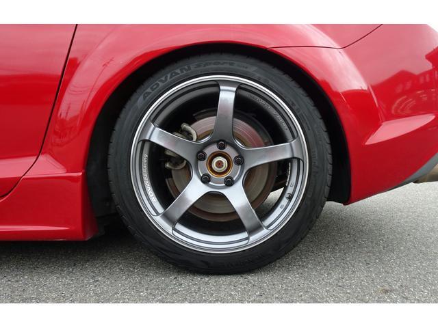 タイプS 6MT車 HKS車庫調 アドバンレーシング18AW アールマジックマフラー ディスチャージ フォグ 社外ナビ フルセグTV Bカメラ オービスレーダー 追加ツイーター ステリモ Bluetooth(23枚目)