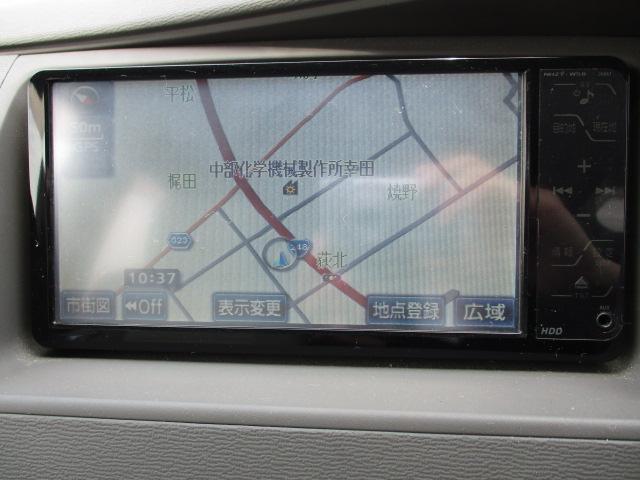 プラタナリミテッド 禁煙車 HDDナビ ワンセグ CD再生 ETC スマキー 3列シート 記録簿 取扱説明書(31枚目)