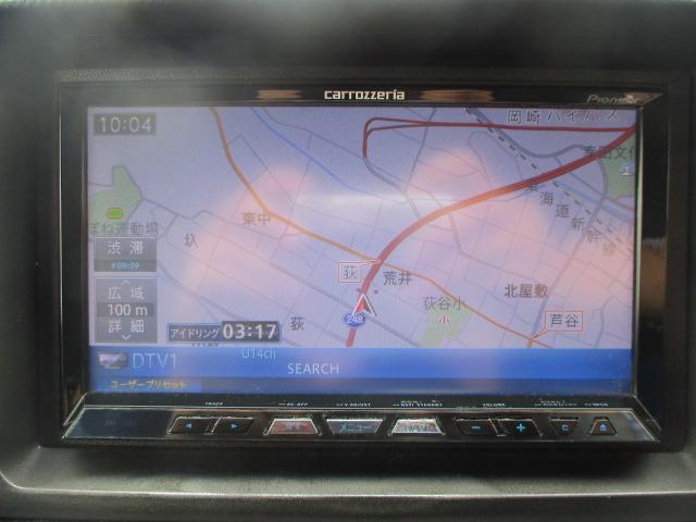 Gエアロ 禁煙 HID ETC Bカメ フルセグ CD DVD 17AW Pシート 保証付(54枚目)
