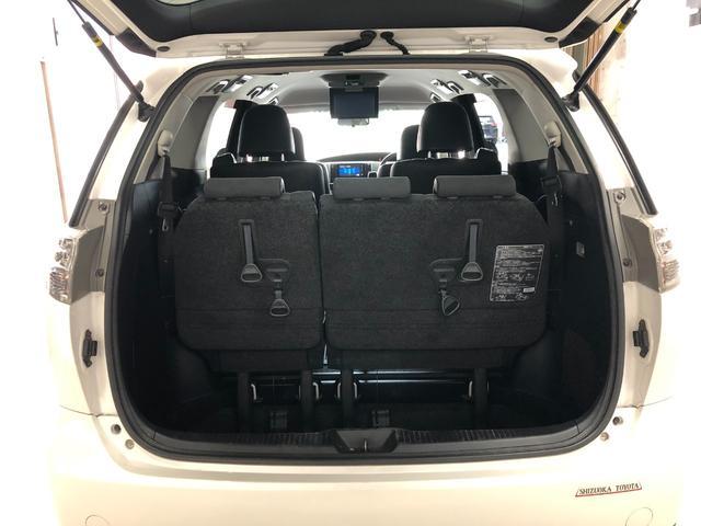 レバーを引っ張ると簡単にシートを収納すことが出来、収納スペースが広がります。