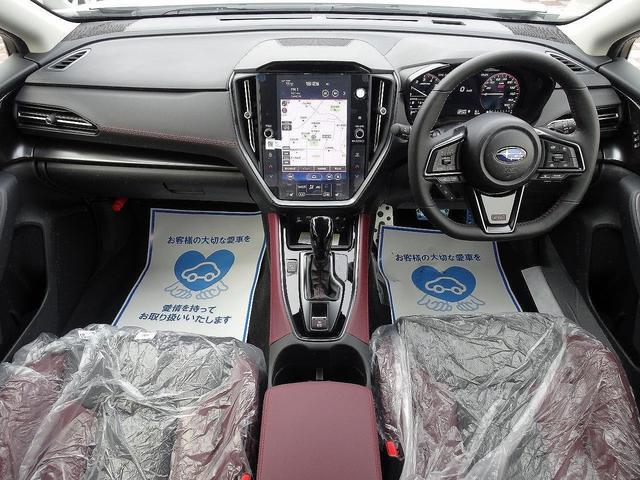 STIスポーツ EX 登録済未使用車 11.6型インフォメーションディスプレイナビ アイサイトX 電子制御ダンパー デジタルマルチビューモニター 電動リアゲート 前席パワーシート 全席シートヒーター リアフォグライト(2枚目)