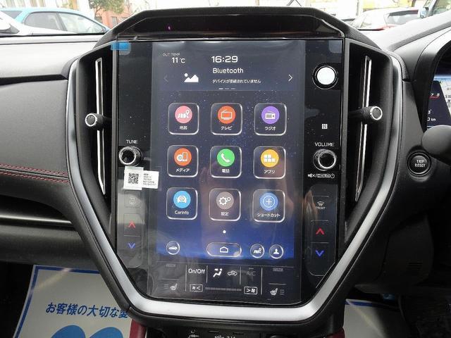 STIスポーツ EX 登録済未使用車 11.6型インフォメーションディスプレイナビ アイサイトX 電子制御ダンパー デジタルマルチビューモニター 電動リアゲート 前席パワーシート 全席シートヒーター リアフォグライト(4枚目)
