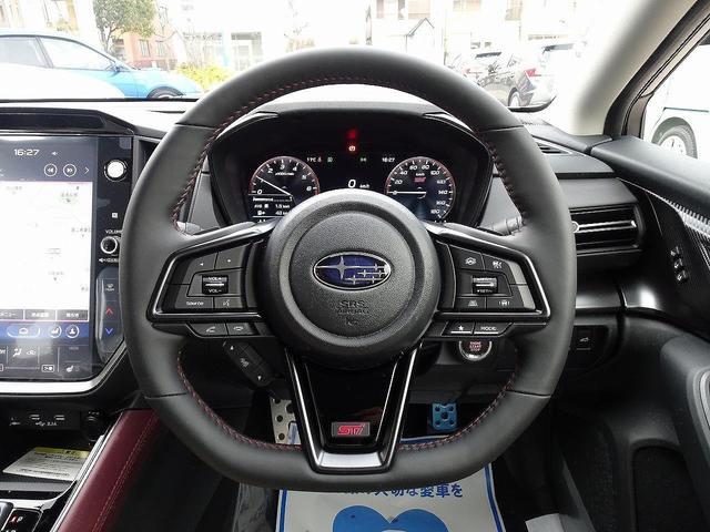 STIスポーツ EX 登録済未使用車 11.6型インフォメーションディスプレイナビ アイサイトX 電子制御ダンパー デジタルマルチビューモニター 電動リアゲート 前席パワーシート 全席シートヒーター リアフォグライト(9枚目)