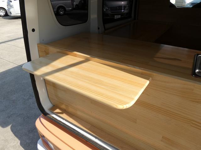 GX ハイルーフ 移動販売車 キッチンカー 軽自動車加工車8ナンバー登録 給水排水タンク 2槽シンク カウンターテーブル 100Vコンセント(5枚目)