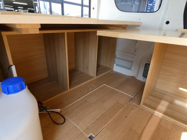 GX ハイルーフ 移動販売車 キッチンカー 軽自動車加工車8ナンバー登録 給水排水タンク 2槽シンク カウンターテーブル 100Vコンセント(13枚目)