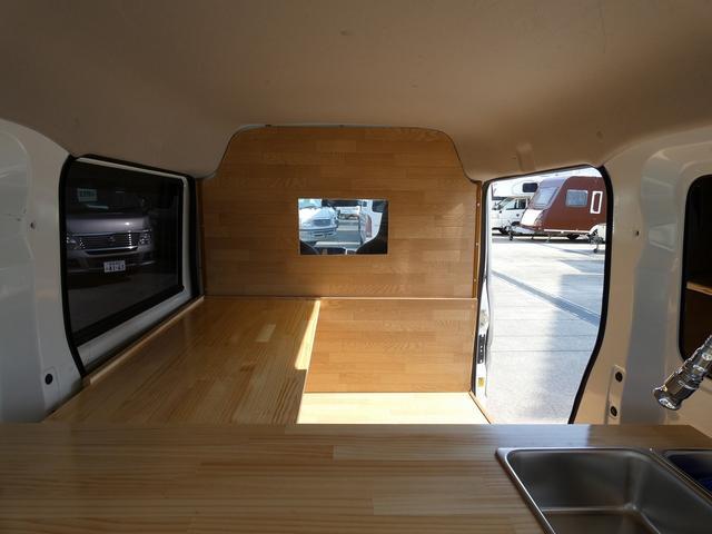 GX ハイルーフ 移動販売車 キッチンカー 軽自動車加工車8ナンバー登録 給水排水タンク 2槽シンク カウンターテーブル 100Vコンセント(16枚目)