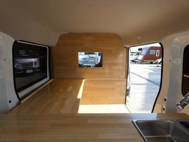 GX ハイルーフ 移動販売車 キッチンカー 軽自動車加工車8ナンバー登録 給水排水タンク 2槽シンク カウンターテーブル 100Vコンセント(20枚目)