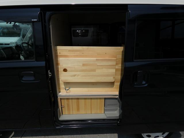 ジョインターボ 移動販売車 キッチンカー 新規架装  ハイルーフ ターボモデル 2槽シンク サイドカウンター リアカウンター 給水ポンプ フォーセット SDナビ TV ETC ドライブレコーダー バックカメラ(14枚目)