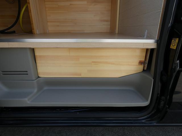 ジョインターボ 移動販売車 キッチンカー 新規架装  ハイルーフ ターボモデル 2槽シンク サイドカウンター リアカウンター 給水ポンプ フォーセット SDナビ TV ETC ドライブレコーダー バックカメラ(18枚目)