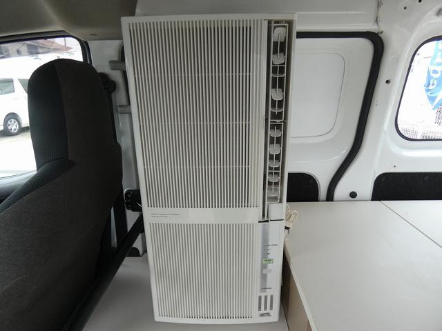 移動事務室車 事務室車8ナンバー登録 ウィンドウエアコン トリプルサブバッテリー バッテリー充電機 インバーター SDナビ ETCユニット インテリジェントキー ドライブレコーダー(15枚目)