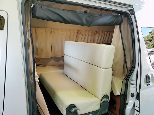 SロングワイドDX GLパッケージ キャンピングカー 9人乗り サブバッテリー 走行充電 コンバーター インバーター ナビ フルセグ バックカメラ フリップダウンモニター ETC パワースライドドア シンク 冷蔵庫(23枚目)