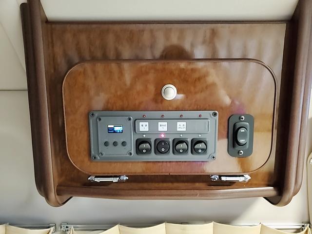 SロングワイドDX GLパッケージ キャンピングカー 9人乗り サブバッテリー 走行充電 コンバーター インバーター ナビ フルセグ バックカメラ フリップダウンモニター ETC パワースライドドア シンク 冷蔵庫(29枚目)