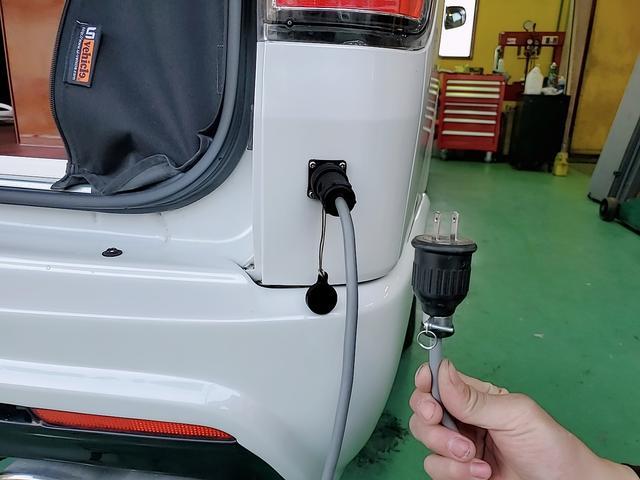 SロングワイドDX GLパッケージ キャンピングカー 9人乗り サブバッテリー 走行充電 コンバーター インバーター ナビ フルセグ バックカメラ フリップダウンモニター ETC パワースライドドア シンク 冷蔵庫(42枚目)