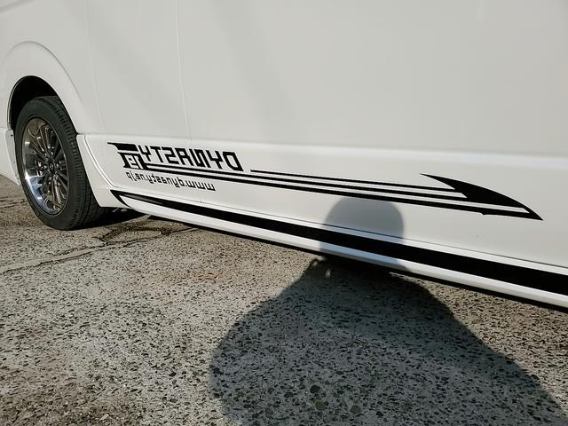 SロングワイドDX GLパッケージ キャンピングカー 9人乗り サブバッテリー 走行充電 コンバーター インバーター ナビ フルセグ バックカメラ フリップダウンモニター ETC パワースライドドア シンク 冷蔵庫(54枚目)